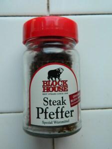 Block House -Steak Pfeffer