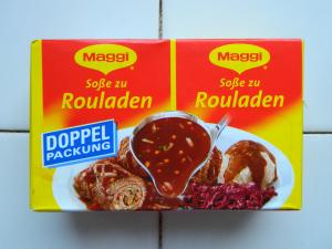 Maggi -Soße zu Rouladen