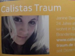 Calistas Traum im brandnooz / OREO Magazin