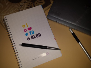 Ein Block für den Blog