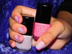 Zart Flieder Neon Pink