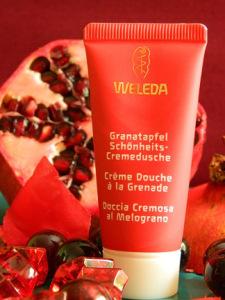 Weleda Granatapfel Schönheits- Cremedusche Probe 20ml