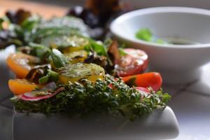 Leckerer gemischter Salat