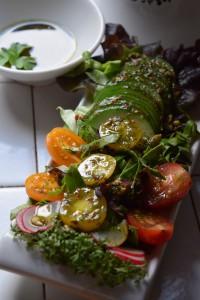 Salat-Dressing Gartenkräuter
