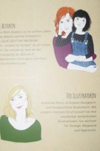 Autorin, Illustratorin und natürlich Julie