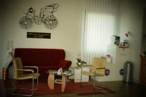 Kunden-Lounge