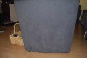 Der Sessel vor der Behandlung