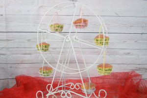 Das Muffin-Riesenrad mit Yvonnes Muffins