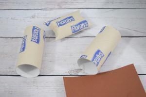 Klopapierrollen oder Tonpapier