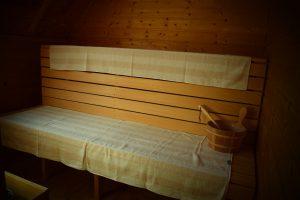Unsere kleine Sauna